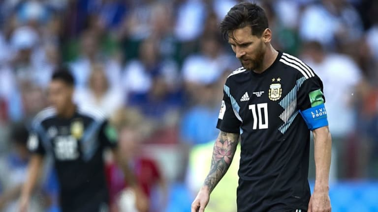 Lionel Messi Admits He Is 'Hurt' by Penalty Miss After Iceland Hold Out in World Cup Draw