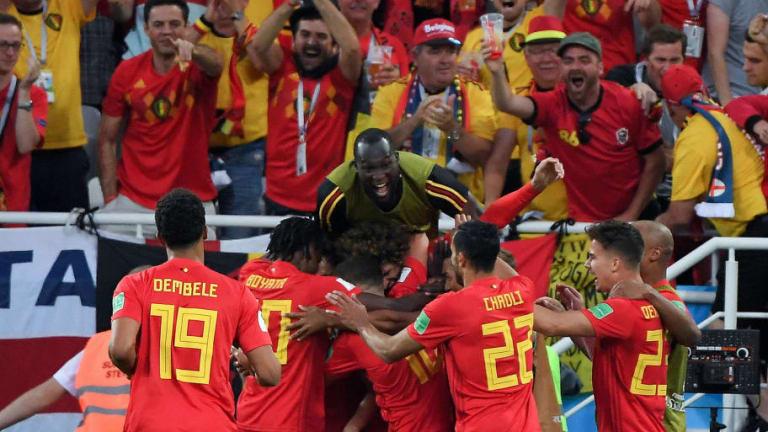 Bélgica vence a Inglaterra (0-1) y acaba primera por el lado difícil del cuadro