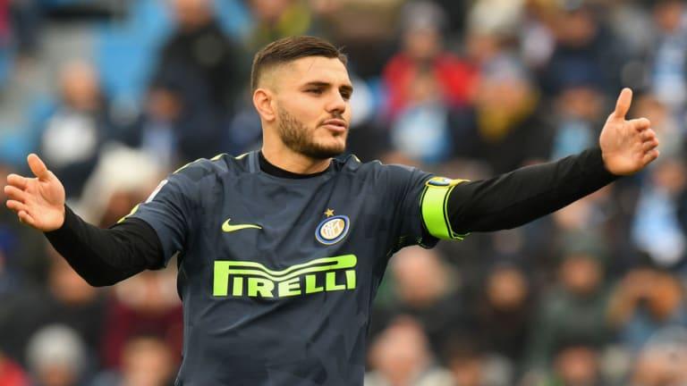 """La """"fiesta"""" de cumpleaños que le hicieron a Mauro Icardi en el vestuario del Inter"""