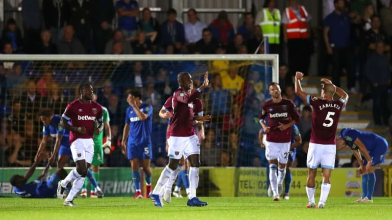 'Liability': West Ham Fans React to Defender's Goal Scoring Performance Against AFC Wimbledon