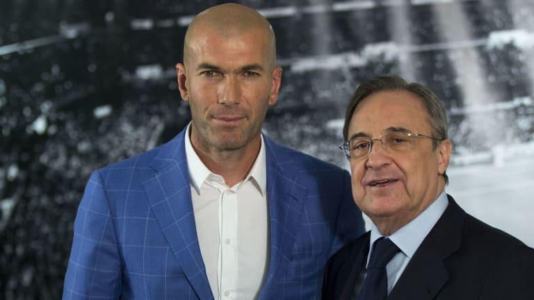 La maldición de los entrenadores de Florentino Pérez que podría romper Zidane