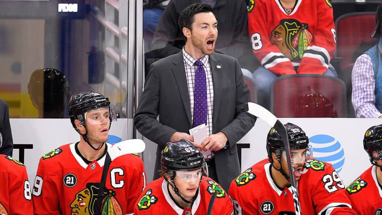 Jeremy Colliton Is Settling in and Finding His Rhythm After the Promotion of a Lifetime