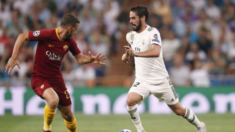 AS Roma - Real Madrid | Alineaciones confirmadas