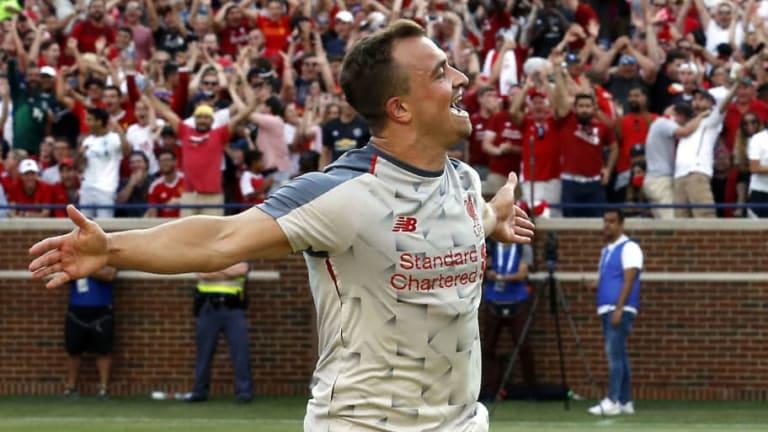 Jurgen Klopp Delighted With Goalscoring Debut for Xherdan Shaqiri as Reds Rout Man Utd