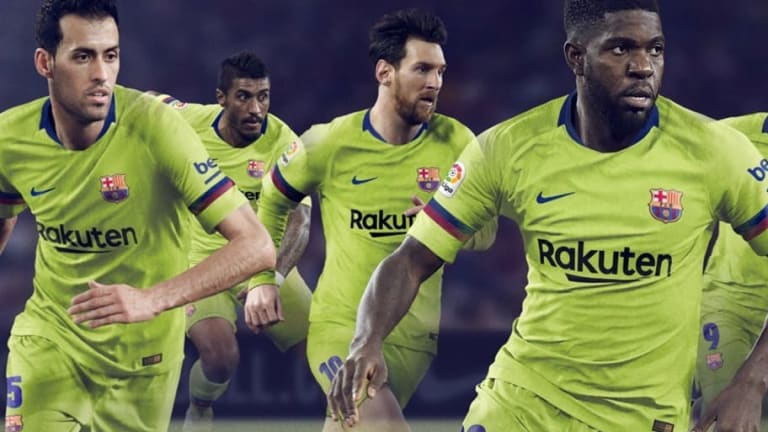 Barcelona Launch Brand New 2018/19 Nike Away Kit in Return to Traditional Yellow