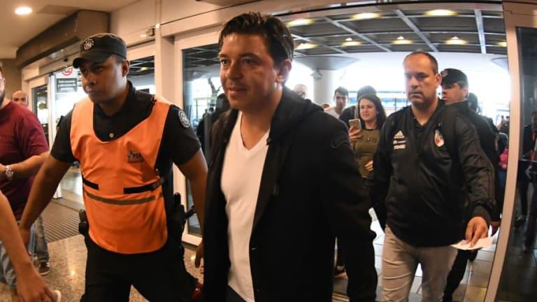 IMPERDIBLE | El tenso cruce entre Gallardo y un representante de la CONMEBOL