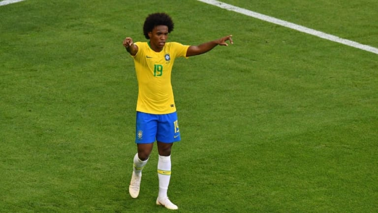 Chelsea Star Willian Opens Up on Rumours Linking Him With a Move to Barcelona