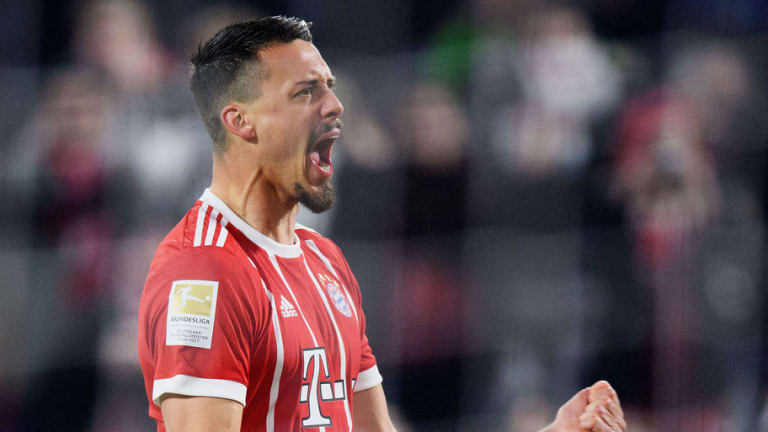 Bayern's New Signing Sandro Wagner Claims He is 'the Best German Striker' After Getting Off the Mark