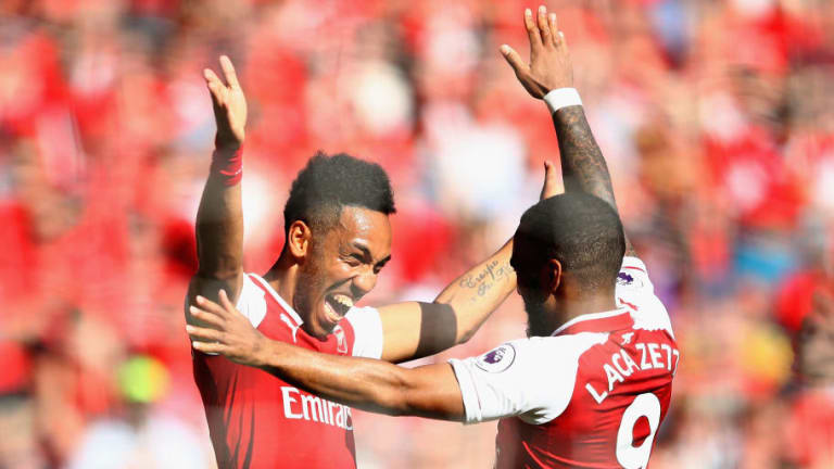 Pierre-Emerick Aubameyang Trolls Liverpool Fans Over Alisson With Lacazette Reminder