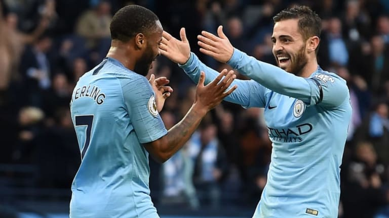 Raheem Sterling on Importance of Man City Taking Advantage of 'Brilliant' Liverpool Dropping Points