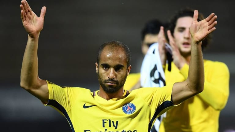 Representative of PSG Winger Lucas Moura Expects £22m Spurs Move to go Through