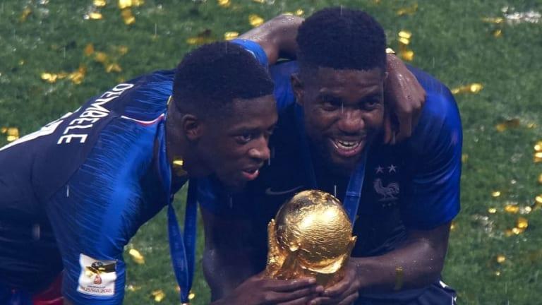 Las primas de los jugadores franceses del Barça por ganar el Mundial