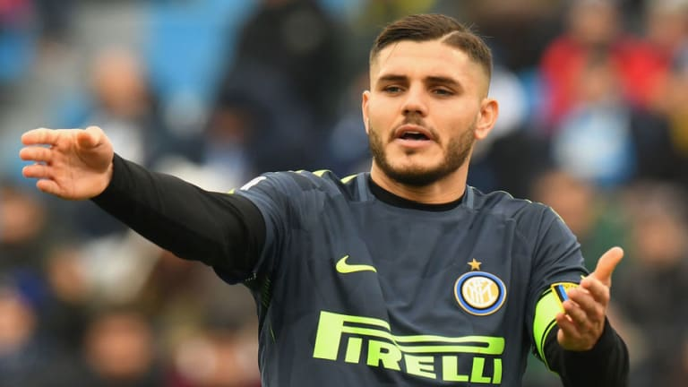 Ronaldo Hints Dip in Form for Inter Star Mauro Icardi Is Due to Real Madrid Interest