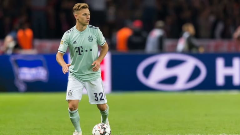 Joshua Kimmich Refuses to Blame Bad Luck for Bayern Loss to Hertha Berlin on Saturday