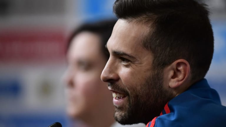 Spain Defender Jordi Alba Dismisses Premier League Links & Calls for Positivity Ahead of Morocco Tie