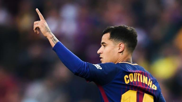 Los increíbles números goleadores de Coutinho esta temporada