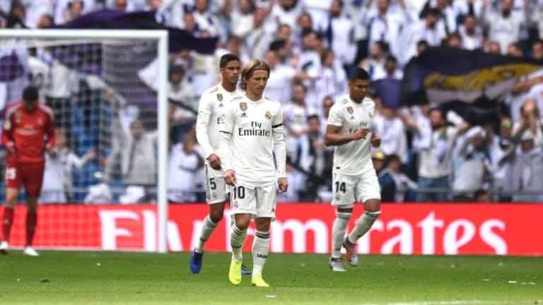 El Real Madrid ha estado muy cerca de igualar la peor sequía goleadora de su historia