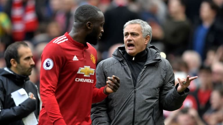 Lukaku Assures He Has 'Perfect Relationship' With Manager Jose Mourinho Despite FA Cup Confusion