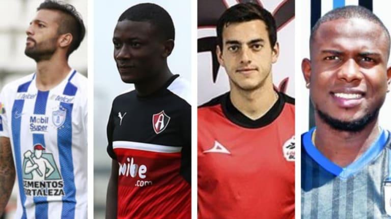 Los 10 jugadores extranjeros en la Liga MX que no han debutado con sus equipos