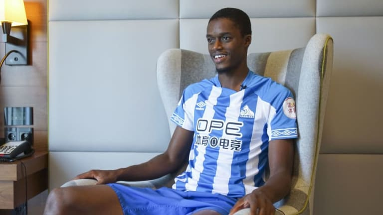 Huddersfield Announce the Signing of French Forward Adama Diakhaby From Monaco on a 3-Year Deal