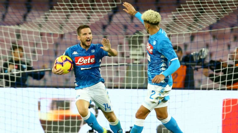 Napoli 1-1 Roma: Report, Ratings & Reaction as Mertens Rescues a Point With Last Minute Goal