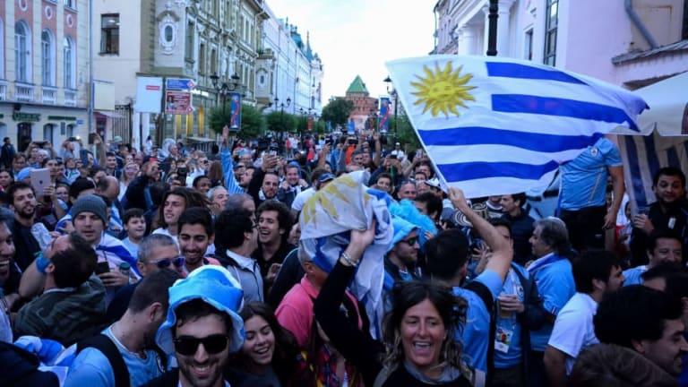 PARA VOLVERSE LOCO | La bomba uruguaya que apoya al equipo en el Mundial de Rusia
