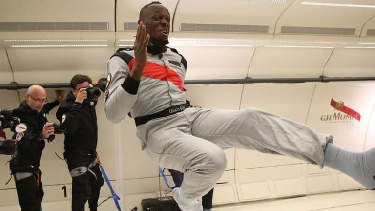 Watch: Usain Bolt Runs on Zero-Gravity Flight, Wins Race in Space