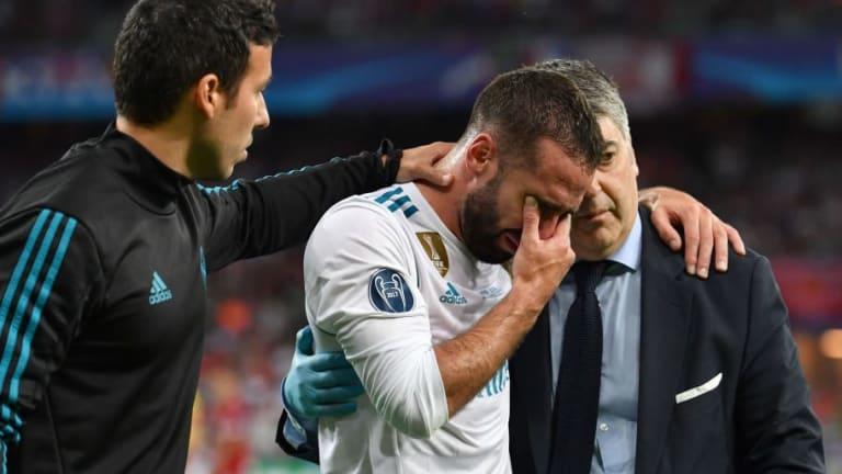 TERRIBLE | Un jugador del Real Madrid que se rompió el ligamento cruzado y estará de baja hasta 2019