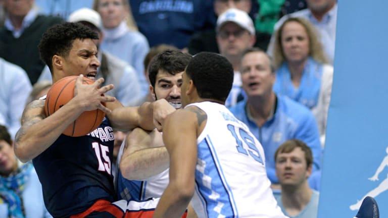 No. 12 North Carolina beats No. 4 Gonzaga 103-90