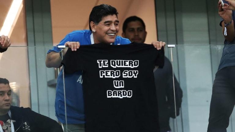 ¡Qué ritmo, Diego! La cumbia de Maradona antes de Argentina - Nigeria