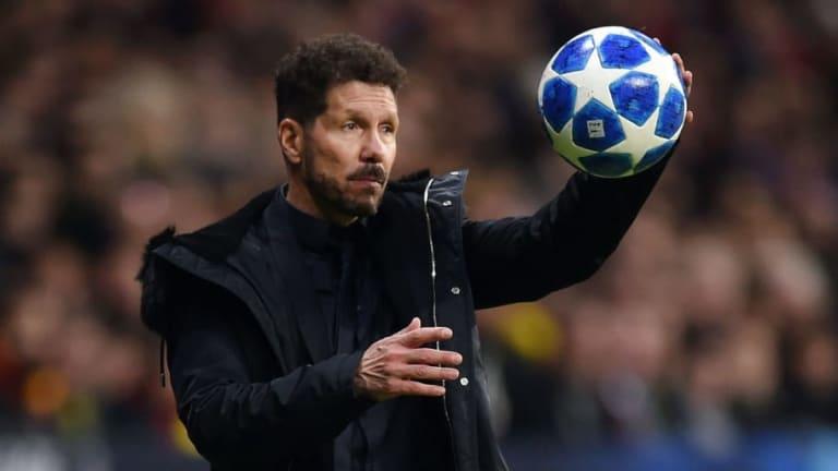 Diego Simeone Praises 'Extraordinary' Antoine Griezmann After Dortmund Win