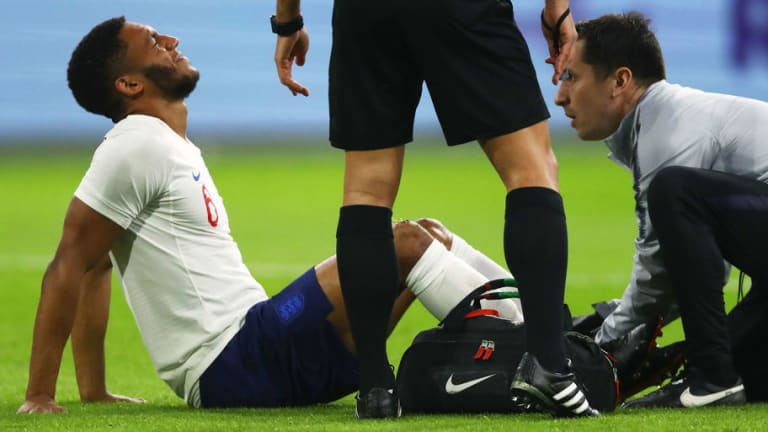 Liverpool Defender Joe Gomez Withdraws From England Squad After Picking Up Ankle Injury