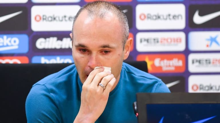 REVEALED: The Bizarre Reason Why Lionel Messi Missed Andres Iniesta's Farewell Press Conference
