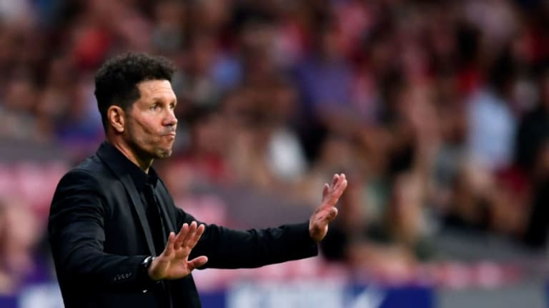 Diego Simeone 'Positive' Over Jose Giménez Injury Ahead of Madrid Derby