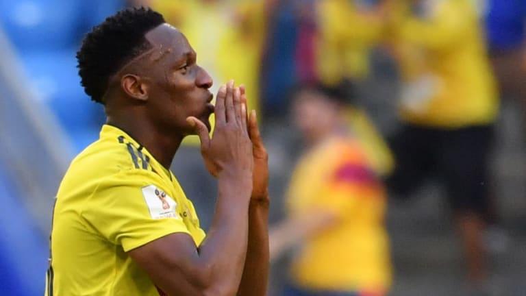 El mensaje de Yerry Mina al FC Barcelona tras la clasificación de Colombia a octavos