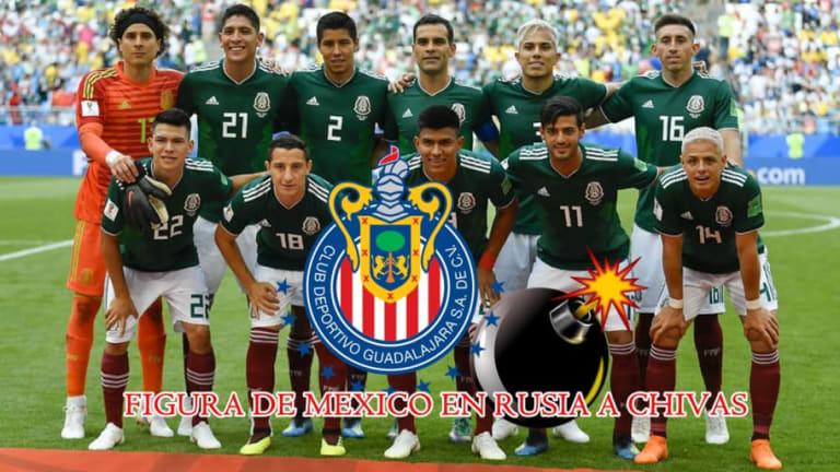 BOMBAZO   Chivas va a repatriar este mexicano seleccionado nacional