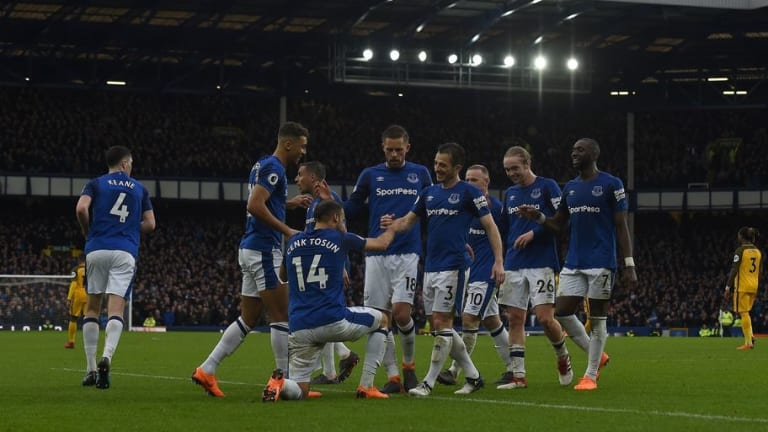 VIDEO: Everton Announce the Launch of New Home Kit on Social Media Ahead of 2018/19 Season