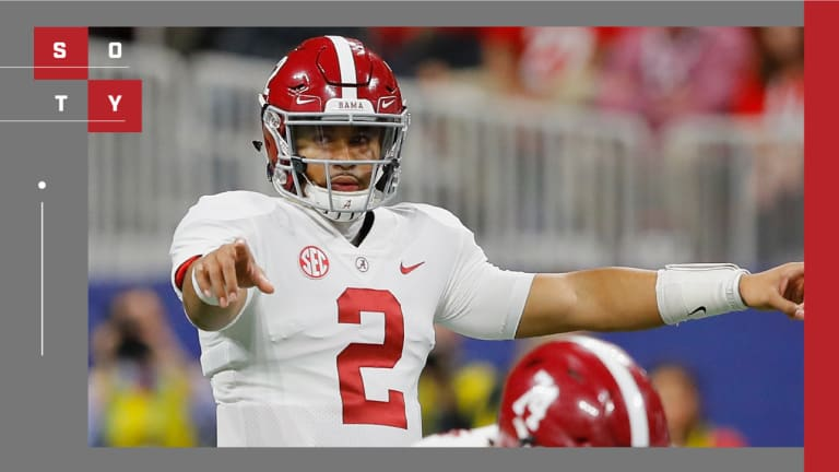 Everything Came Full Circle for Alabama QB Jalen Hurts in 2018