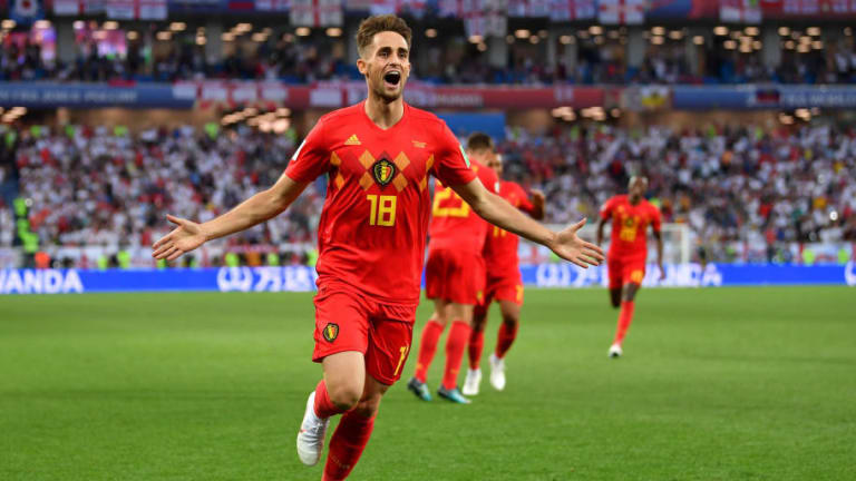 Fans Name Adnan Januzaj as Man of the Moment for Belgium After Stunning Winner Sinks England