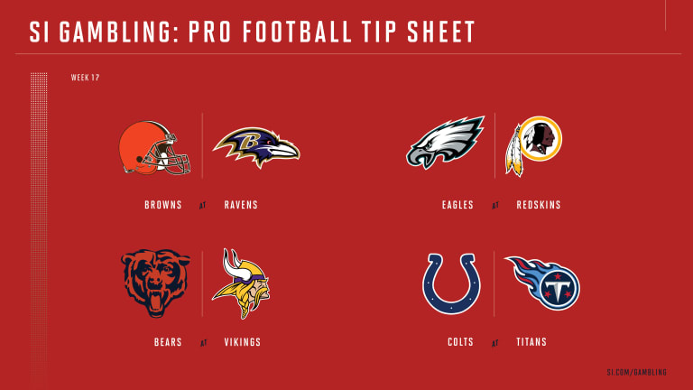 Weekly Tip Sheet: The Complete Printable Betting Guide to NFL Week 17 Games