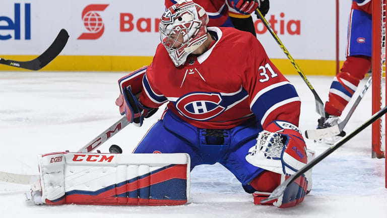 Watch: Carey Price Made an Incredible Save Against the Lightning in Overtime