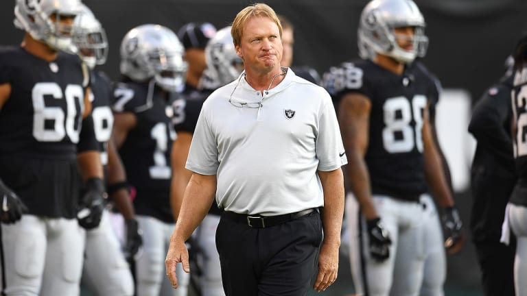The Soon-To-Be Las Vegas Raiders Can't Admit It, But the Team Is Tanking