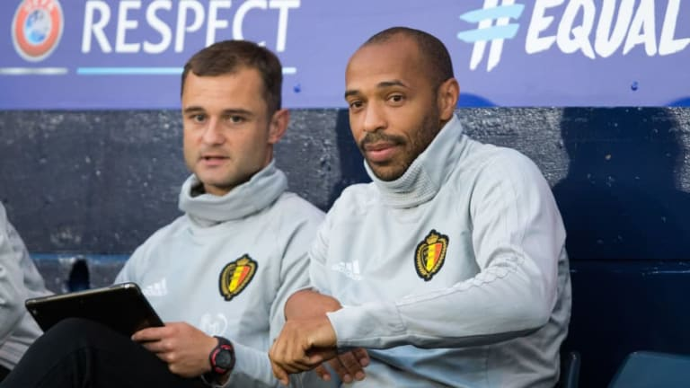 Thierry Henry Set to Leave Belgium Camp Ahead of Appointment as Monaco Manager Next Week