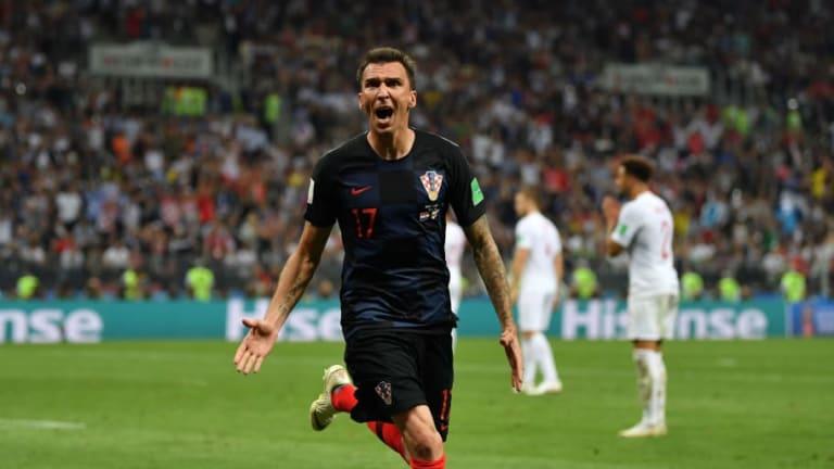 Croatia 2-1 England (AET): Three Lions' Hearts Broken as Mandzukic Scores Extra Time Winner