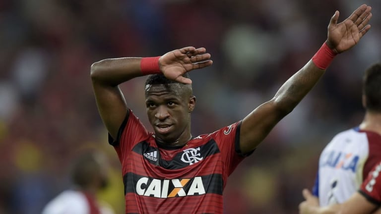 Brazilian Club Flamengo Confirm Vinicius Juniour Will Leave Ahead of Real Madrid Move