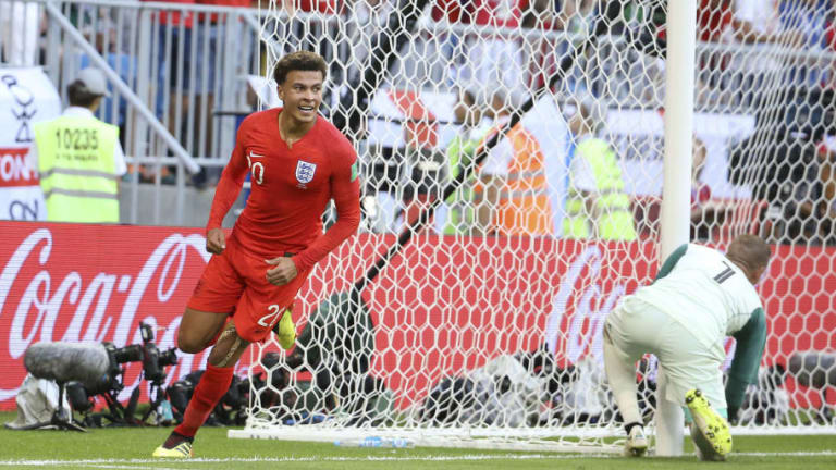 Dele Alli Says England Fan Support Gives Him 'Shivers' Ahead of World Cup Semi Final