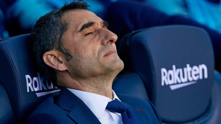 Valverde cometió un error y lo admitió en el descanso del FC Barcelona - Betis
