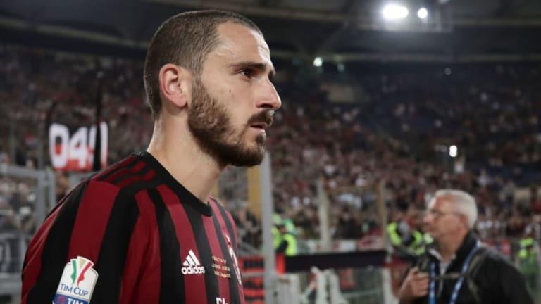 Manchester United Prepare Move for Italian Star Leonardo Bonucci Amid AC Milan's FFP Woes