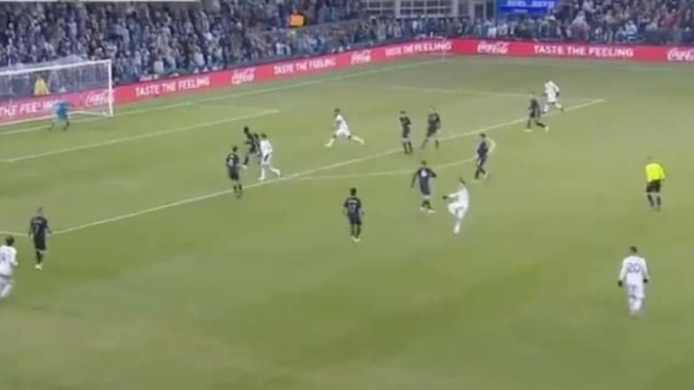 Sebastián Blanco del Portland Timbers anotó uno de los mejores goles de la temporada en la MLS