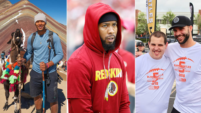For Many NFL Players, Summer Doesn't Bring Much of a Break